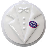 CAKE PAN PLASTIC TUXEDO