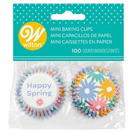 BAKING CUPS MINI SPRING 100 CT