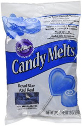 CANDY MELTS ROYAL BLUE 12 OZ
