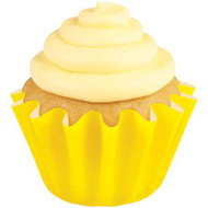BAKING CUPS STD WAVE YELLOW 24 COUNT