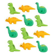 ICING DECO DINOSAURS 12 CT ASSORT