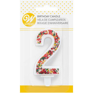 TRENDY BIRTHDAY NUMERAL CANDLE-2