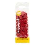 SPRINKLES HEARTS JUMBO RED POUICH