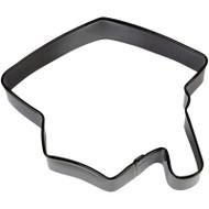 COOKIE CUTTER GRAD CAP BLACK 3.5 IN.