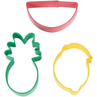 COOKIE CUTTERS FRUIT 3 DESIGNS