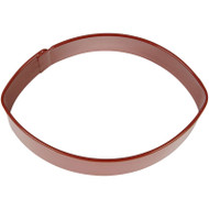 COOKIE CUTTER FOOTBALL 3 IN. BROWN