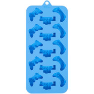 SILICONE CANDY MOLD GAMER 15 CAVITIES