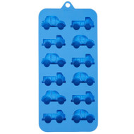 SILICONE CANDY MOLD CARS, TRUCKS CAVITIES
