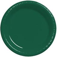 HUNTER GREEN 8.75 PLATES 10 CT