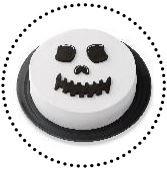 CAKE MAKER SKULL FACE