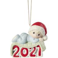 PM211006 BABY BOY 1ST 2021 ORN