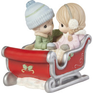 PM211044 A COZY RIDE BY YOUR SIDE FIGURINE