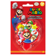 CANDLE SUPER MARIO BiRTHDAY 3.5 IN.