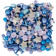 SPRINKLES BLUE COSMIC POUCH 10 OZ.