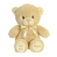 """BEAR MY FIRST TEDDY BEIGE 12"""""""