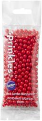SPRINKLES NONPAREILS JUMBO RED 1.41 OZ.