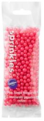 SPRINKLES NONPAREILS JUMBO PINK 1.4 OZ.