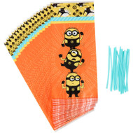TREAT BAGS DESPOCABLE ME MINNIONS 16 CT