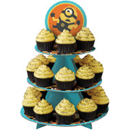 CUPCAKE TREAT STAND DESPICABLE ME MINNIONS