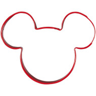 COOKIE CUTTER MICKEY MOUSE 3 IN. RED