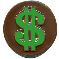 MOLD COOKE CANDY DOLLAR SIGN 5 CAVITIES