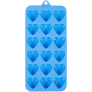MOLD SILICONE HEART FANCY 18 CAVITY