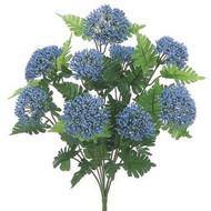 """QUEEN ANNES'S LACE BUSH x9  BLUE 18"""""""