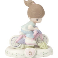 PM152012B GIRL ON BICYCLE AGE 6