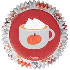 BAKING CUPS COFFEE MUG AUTUMN 75 CT