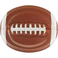 PLATTER OVAL FOOTBALL TOUCHDOWN TIME 8 CT