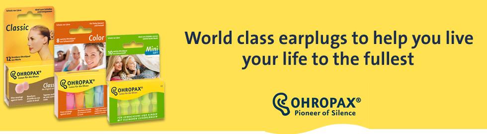 OHROPAX earplugs