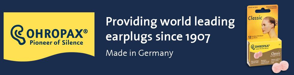 OHROPAX premium earplugs