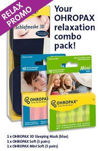 OHROPAX relaxation combo pack