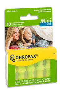 OHROPAX Mini Soft earplugs
