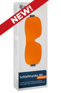 NEW! OHROPAX 3D Sleeping Mask - ORANGE
