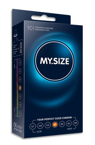 MY.SIZE 57 mm condom (10 pack)
