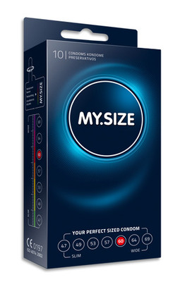 MY.SIZE 60 mm condom