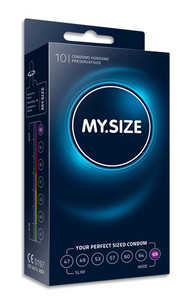 MY.SIZE 69 mm condom (10 pack)