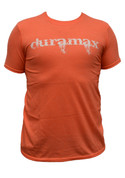 DuramaxGear | Heathered Orange Shirt | Bleeding Cowboy White Duramax | T14014