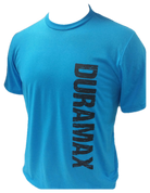 DuramaxGear | Blue, Green, Pink, Orange, or Red Shirt | Vertical Black Sharp Stencil Duramax | T0001