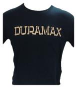 DuramaxGear | Black Shirt | Desert Sand Stencil Duramax | 200993