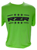 RZRGear | Neon Shirt | Stars and Bars Black  RZR | T0006