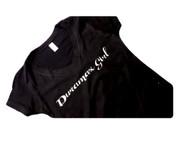 DuramaxGear | Ladies' Black Shirt | Silver Glitter Duramax | T0013