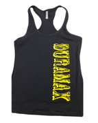 DuramaxGear | Ladies' Black Racerback Tank | Vertical Duramax Vertical | T0017