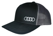AudiGear | Two Tone Snapback Hat | Audi Rings | T0019