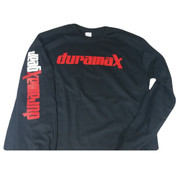 DuramaxGear | Black Long-Sleeved Shirt | DuramaxGear Logo | T0033
