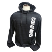 CumminsGear | Performance Hoodie | Vertical Distressed CUMMINS | T0056