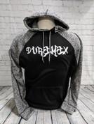 DuramaxGear | Black Cosmic Raglan | Duramax Graffiti | T0090