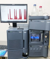 Waters Acquity UPLC with Trippel Quadruple Mass Spectrometer Detector System (TQD).