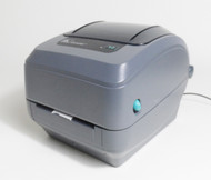 Used Zebra GK420t Thermal Label Printer